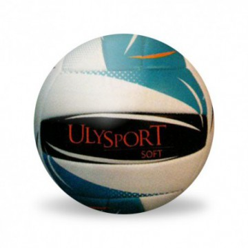 "ballon beach volley ""soft"" bleu"