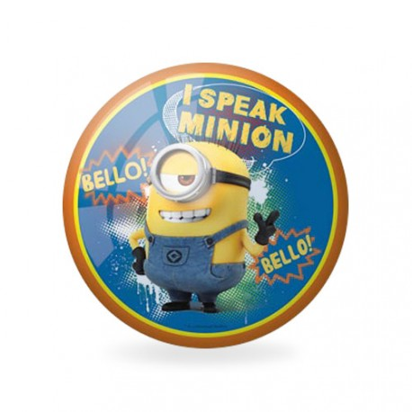 ballon plastique The Minions bleu