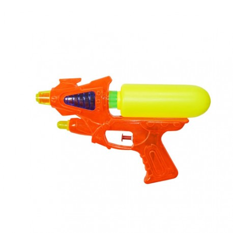Pistolet à eau + 1 réservoir 22 cm orange