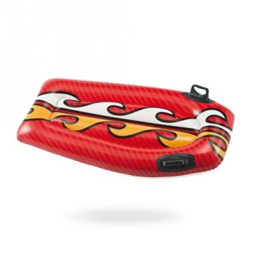 Body Board Gonflable Rouge 112 cm 6ans et +