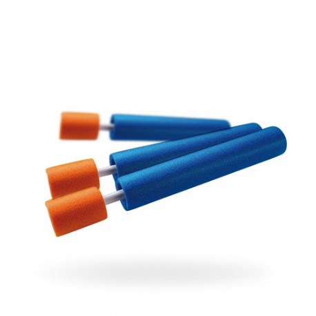 Pistolet à eau Mini Eliminator 33cm Bleu/Orange