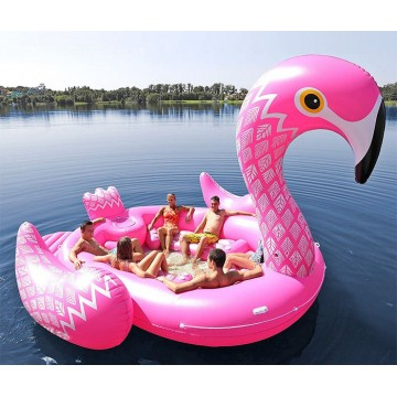 Ile Flamant Rose Gonflable 5m