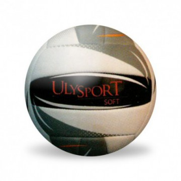 "ballon beach volley ""soft"" gris"
