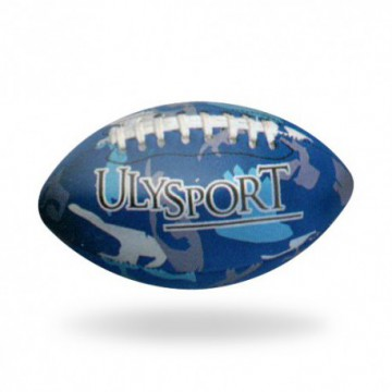 "ballon rugby ""mini beach titan"" bleu"